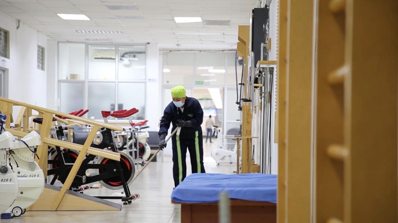 HTMC paga deuda al proveedor de limpieza y desinfección Better Cleaning