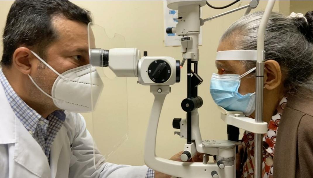 HTMC repotencia la Unidad Técnica de Oftalmología